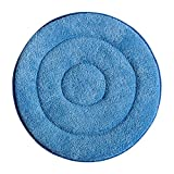 "17"" Wet/Dry Microfiber Rotary Cleaning Bonnet by WholesaleMop"