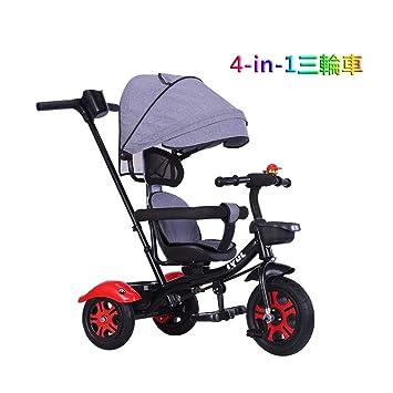 Tricycle baranda removible triciclo for niños de 4-en-1 triciclo ...