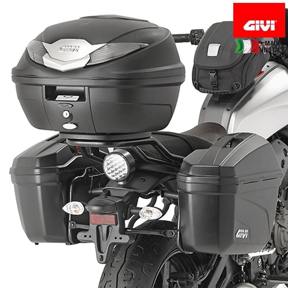 Givi PL2126 Seitenkoffer-Tr/äger Stahlrohr Schwarz 40