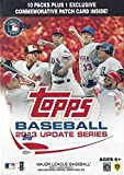 This is a 2013 Topps Update (Traded) Series Baseball Unopened Blaster Box that contains 10 packs of 8 cards per for a total of 80 cards plus a Bonus Commemorative Patch Card! Chance at a ton of rookie cards including Michael Wacha, Yasiel Pui...