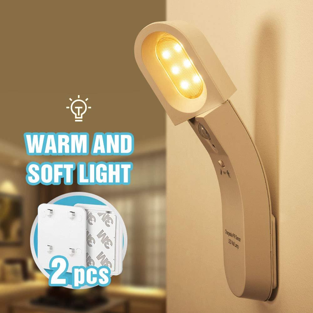 USB Light 6 LED Cool White with PHOTOCELL Light Sensor