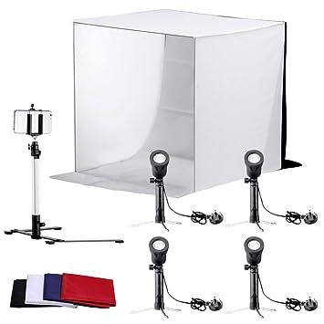 neewer table top square photography studio tent amazon co uk