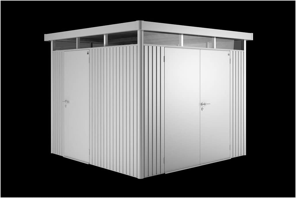 Accesorios para puertas de Biohort caseta de alta línea de colour gris-metálico 76 x 182 cm