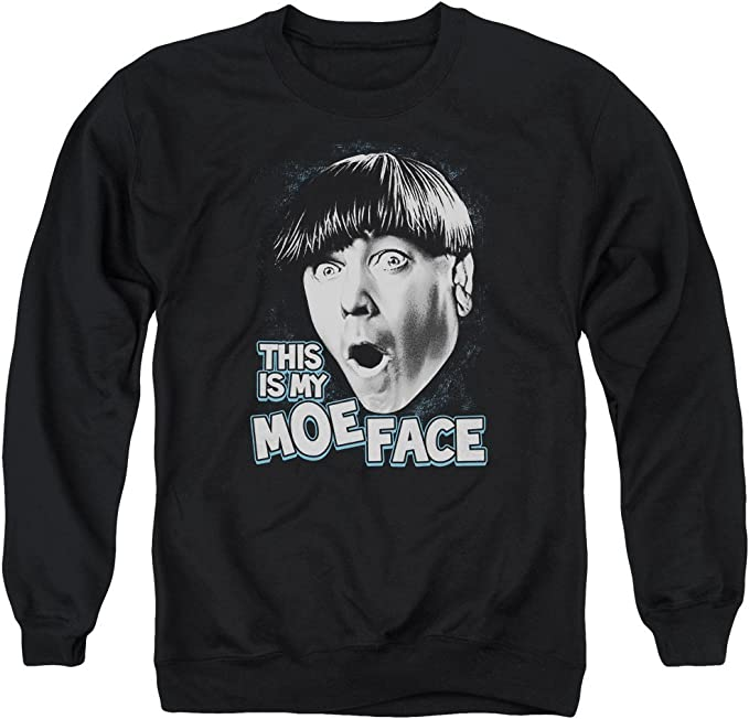 Motivated Culture Larry Curly Moe 3 Stooges Crewneck Sweatshirt
