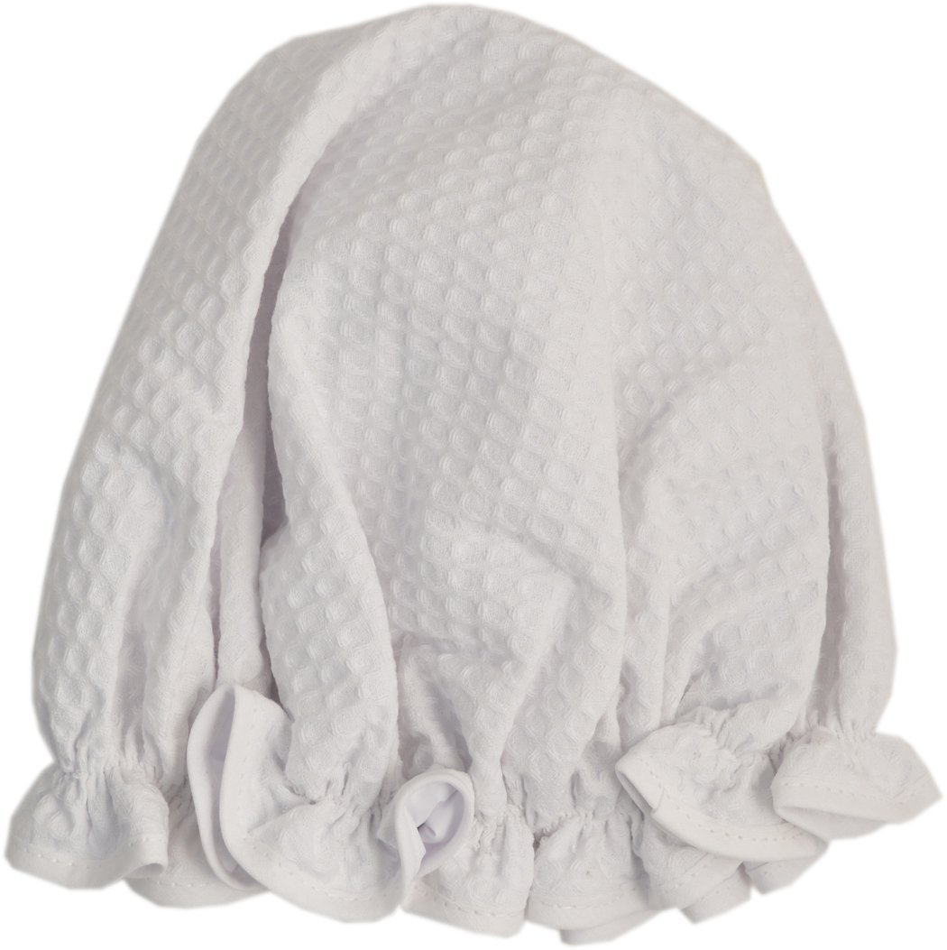 Vagabond Bags Ltd Shower Cap, White Waffle WW5105