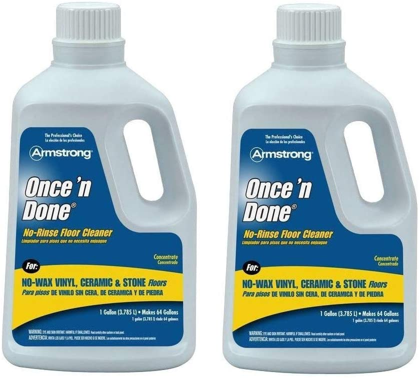 Amazon Com Armstrong 330408 Once N Done Concentrated Floor