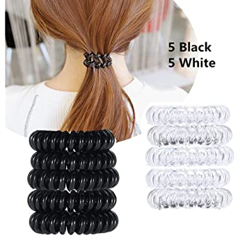 Amazon.com   No Crease Hair Ties for Women and Girls 15aa922b1f5