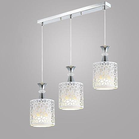 Araña (Vintage 3 Lámpara de techo diseño moderno E27 metal ...