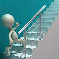 Tatayang Edelstahl Handlauf Treppengel/änder Gel/änder Wandhandlauf Wandhalterung Wandhalter Gel/änder Stange Griff 120cm