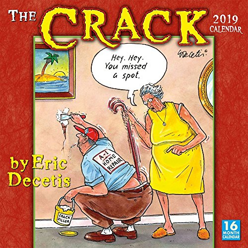 The Crack Calendar by Eric Decetis 2019 Wall ()