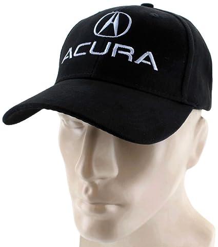 Amazoncom Acura Velcro Closure Black Baseball Cap Trucker Hat - Acura hat