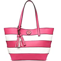 Zeneve London Bag For Women,Fuchsia - Tote Bags