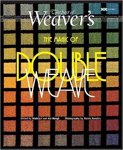 Magic of Doubleweave: The Best of Weaver's (Best of Weaver's series) (2006-07-01)