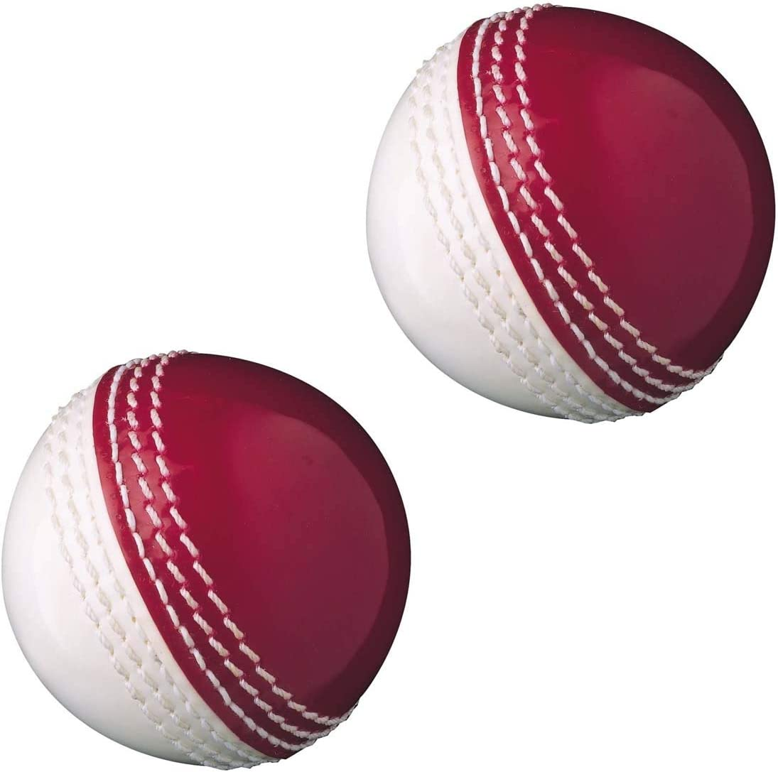 AnNafi Dual Color Cricket Coaching Balls Sports Training & Fun Balls | Training Balls Double Color red and White | Sports & Games