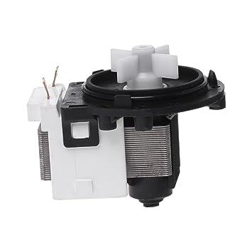 Qiulip Bomba de drenaje de agua para lavadora electrónica LG BPX2 ...