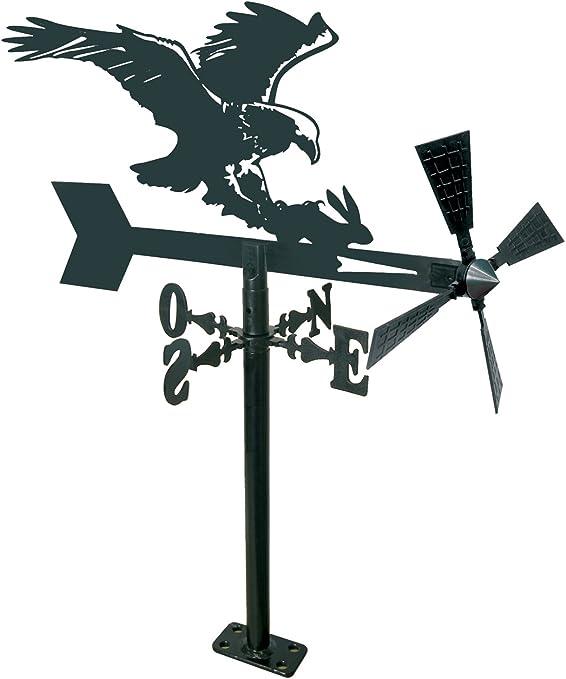 Arthifor Veleta de Jardín con Silueta de Águila, Negro Mate: Amazon.es: Jardín