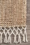 nuLOOM Raleigh Hand Woven Wool Area Rug, 3' x