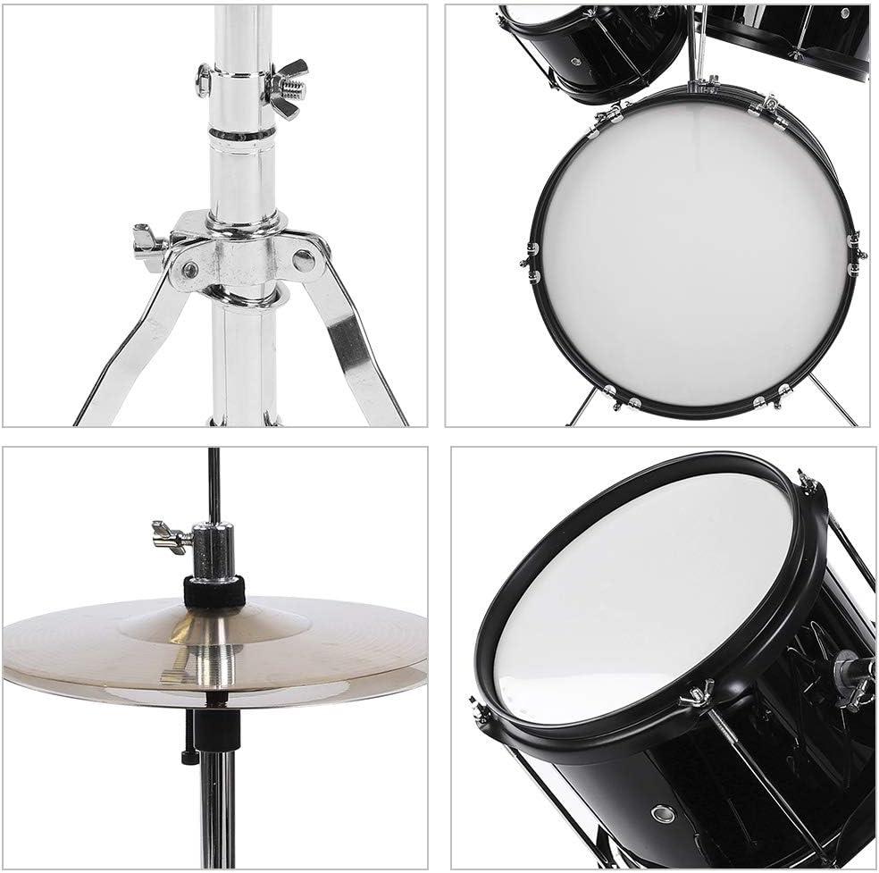 pedal para ni/ños o principiantes baquetas bater/ía electr/ónica incluye taburete Bater/ía Junior