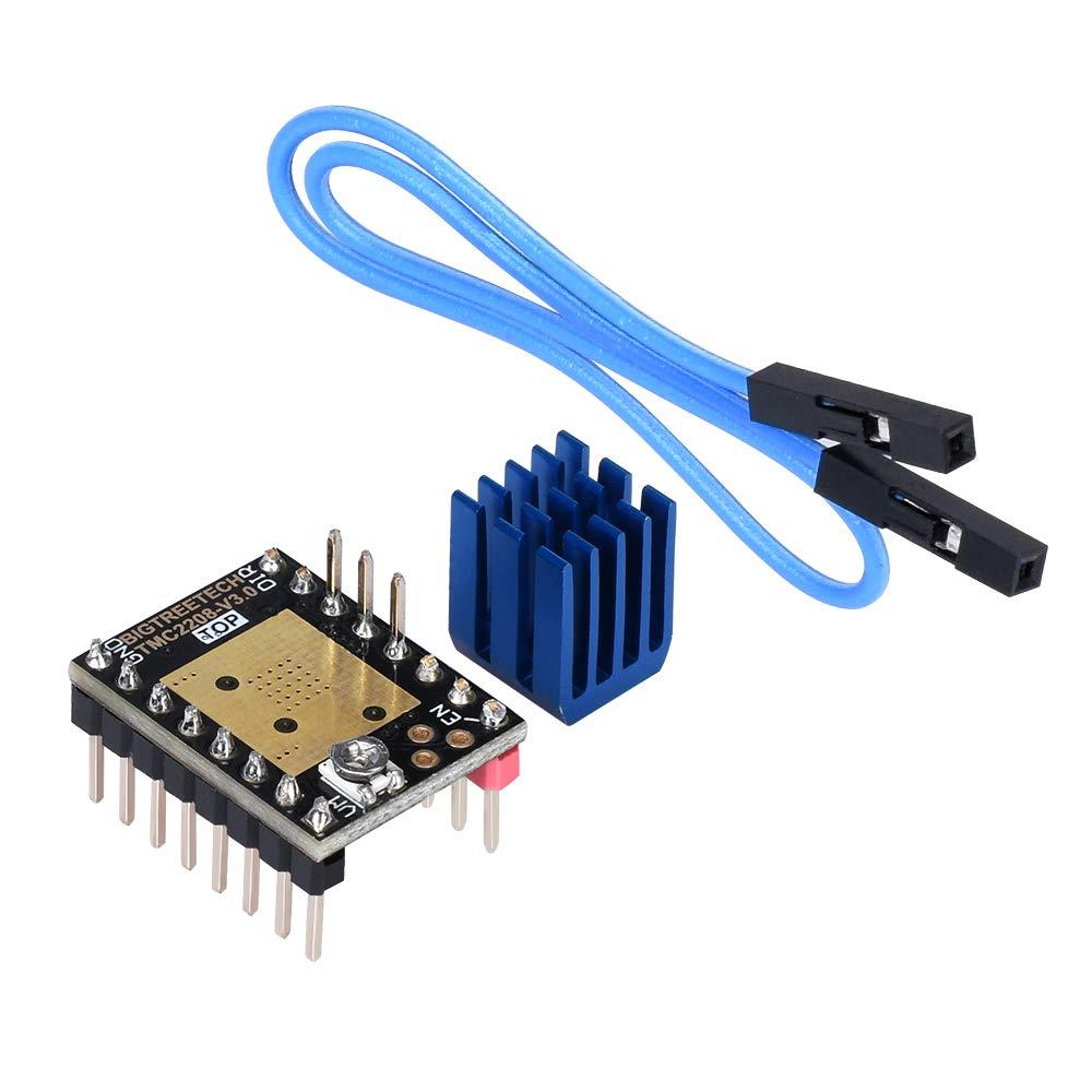 TMC2208 V3.0 UART Mode Stepper Motor StepStick Driver for 3D Printer Part Reprap ILS