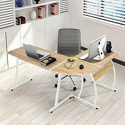 Fanilife Moderner Computer Schreibtisch, L Förmiger Fanilife Schreibtisch, Computertisch  Für Den PC, Großer Arbeitstisch Für Ihr Arbeitszimmer Zu Hause ...