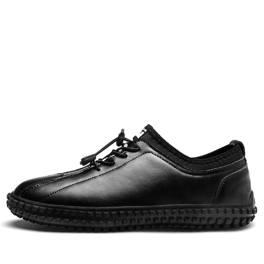 Herren Mode Freizeit Lederschuhe Rutschfest Flache Schuhe Trainer Werkzeugschuhe Lässige Schuhe EUR GRÖSSE 39-44