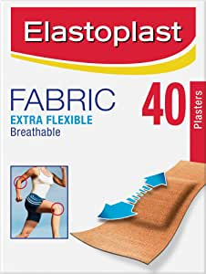 Elastoplast  - Extra Flexible Fabric Plasters (40)