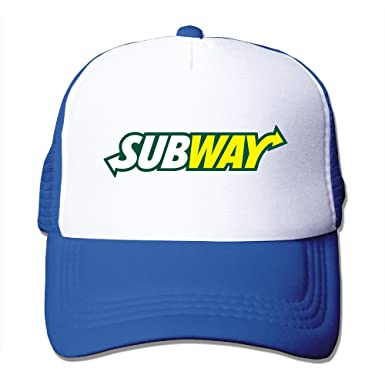 YA-HiUK Unisex Subway IP Restaurant Trucker Hats Snapback Caps ... b9bd7a394a0