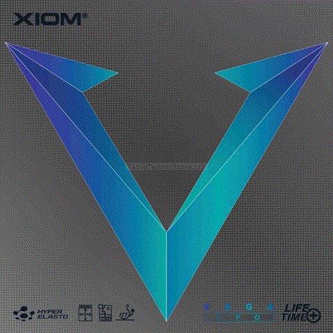 Xiom Vega LPO – Long Pips Table Tennisラバー  ブラック B072LVWJ7N