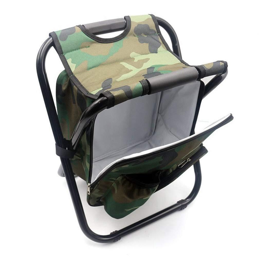 JORCOKA 折りたたみ式ポータブルシートバックパック 釣りクーラー ビーチチェア キャンプ 釣り スポーツイベント テールゲート ハイキング ピクニック アウトドア用軽量バックパック 折りたたみ椅子   B07P5S46PK