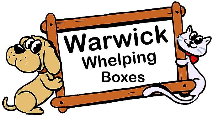 Warwick Whelping Boxes Pack de 12 collares cachorro s/m para basura Identificación 17 cm/25 cm Set: Amazon.es: Productos para mascotas