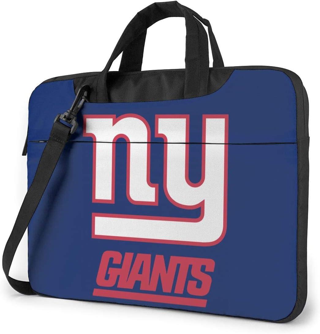 Azhangljqn Laptop Bag New York Giants Laptop Shoulder Bag, One Shoulder Shockproof Laptop Bag, Handbag, Business Travel Bag