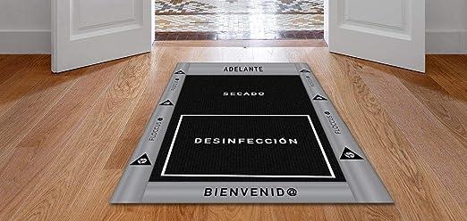 OBLITE Alfombra - Felpudo desinfectante Premium para desinfección de Calzado. Ideal para Negocio y hogar (58x95) - Made in Spain: Amazon.es: Hogar