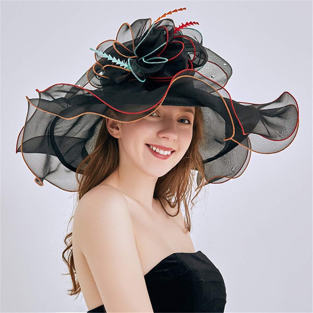Womens Church Derby Dress Fascinator Bridal Cap British Tea Party Wedding Hat