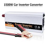 mesllin Modified Sinus 1500W (3000W Peak) Wave Auto Power Inverter DC 12V auf AC 240V