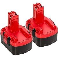 2X Boetpcr 14.4v 3.0ah NI-MH Reemplazo para Bosch