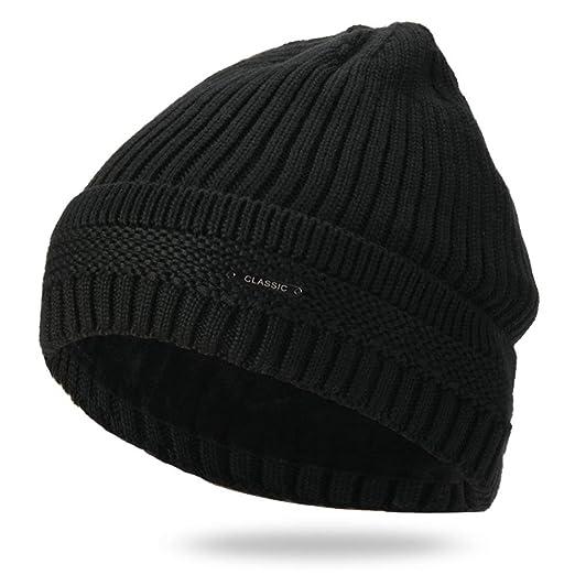 KFEK Sombrero de Invierno Sombrero de Punto de Marea más Gorro de ...