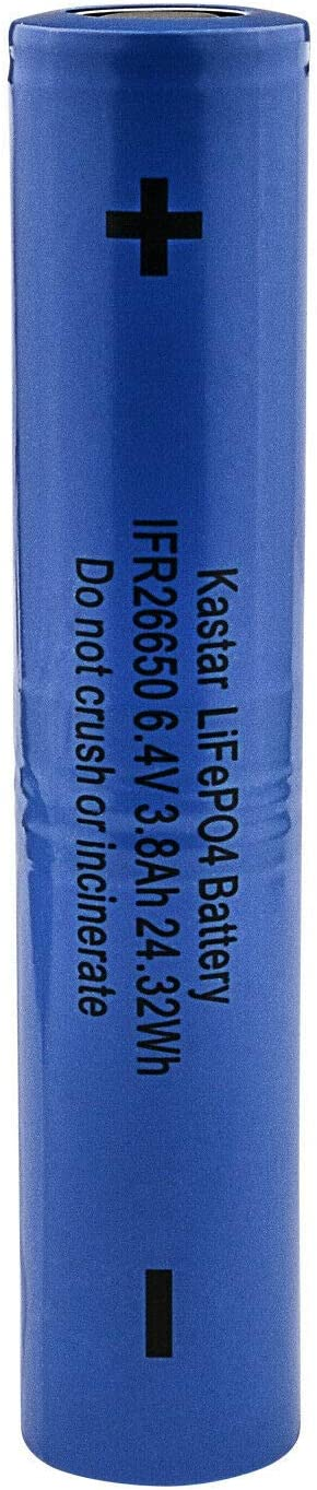 Kastar 1-Pack LiFePO4 Battery Popular Ranking TOP6 6.4V 3800mA Replacement Maglit for