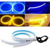 EverBright DRL Led Strip Lights for Cars, Led Headlight Strip for Daytime Running Lights Turn Signal Bulb DRL Sequential…