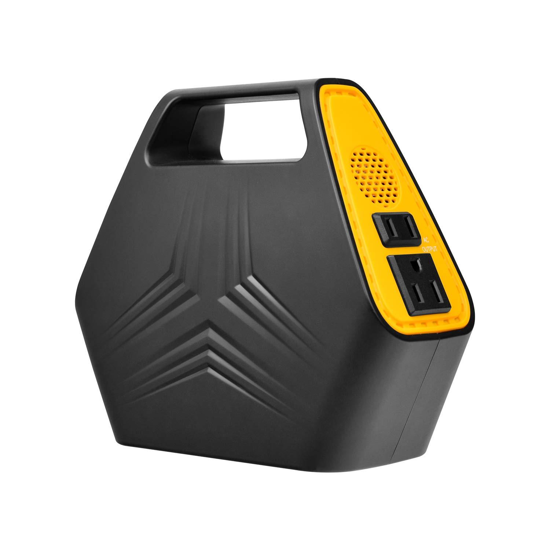 NexTrend Portable Power Station, 146WH/42000mAh Power Inverter Battery Camping CPAP Emergency Home Use UPS Solar Charger, 110V AC Outlet, 12V Car Port, 5V USB Outputs-Emergency Backup