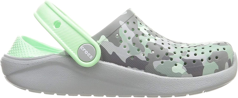 Crocs Unisex-Kinder Literide Printed Camo Clog K Freizeit Flip Flops Sportwear