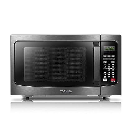Amazoncom Toshiba Em131a5c Bs Microwave Oven With Smart Sensor