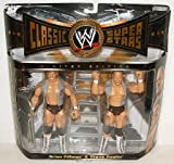 WWE WWF Classic Superstars ''The Hollywood Blonds'' Flyin Brian Pillman and Stunning Stone Cold Steve Austin Wrestling Figures