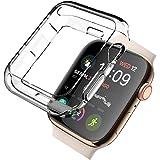 【2セット】Newzerol For Apple Watch Series 4 44mm 2018 ケース【耐衝撃・TPU・シンプル・携帯カバー】Apple Watch 44mm Series 4 用 保護ケース (クリア)