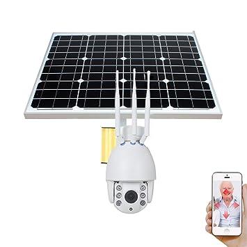 Amazon.com: OMZBM 1080P HD 2.0M 5X Zoom Óptico Batería Solar ...