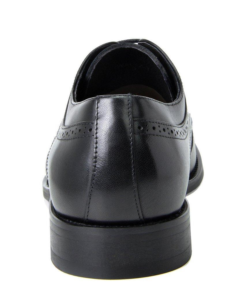Bruno Marc Men's Waltz-1 Black Genuine Leather Dress Oxfords Shoes Size 11 M US by BRUNO MARC NEW YORK (Image #5)