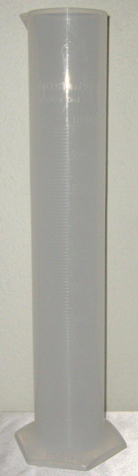 1000 Ml Plastic Cylinder Graduated, 1l by CB