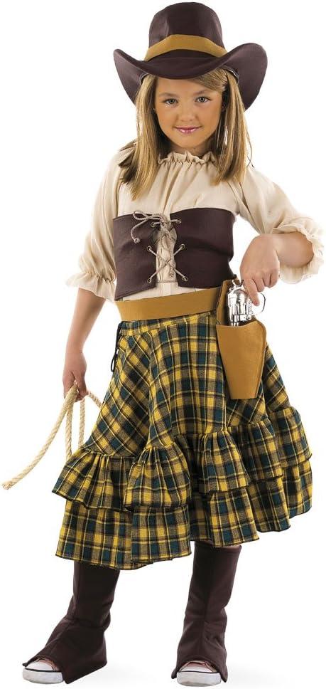 Limit Sport - Disfraz de vaquero para niña, talla 7 años (MI525 ...