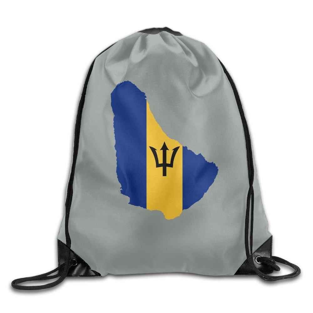 8927f8d182b6 chic LoveoorheebeFB Unisex Flag Of Barbados Fashion Beam Mouth  Backpack drawstring Double Shoulder Bag Drawstring Travel Backpack