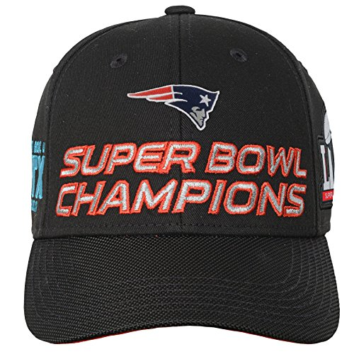 nfl-new-england-patriots-super-bowl-51-champions-structured-adjustable-hat-black-one-size