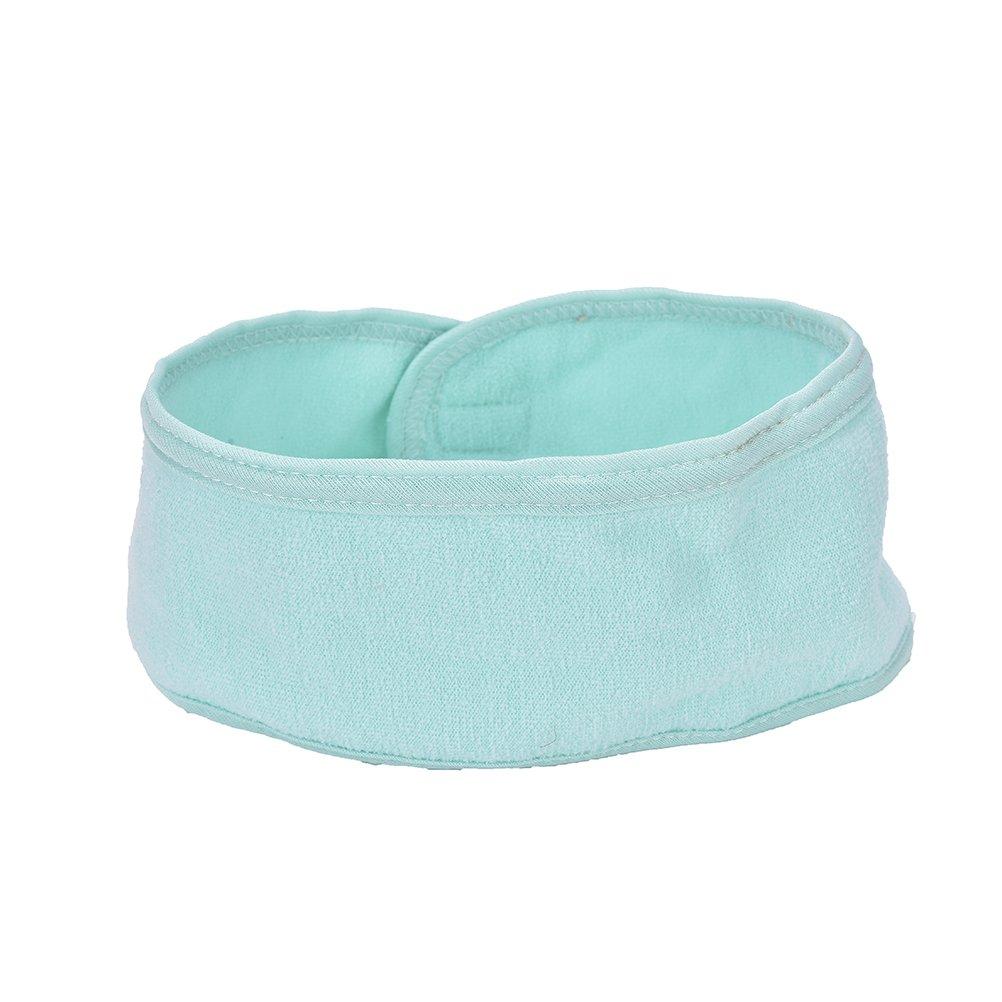 Eshylala Cotton Yoga Spa Bath Shower Make Up Wash Face Headband,Hair Band for Women,LIGHT GREEN
